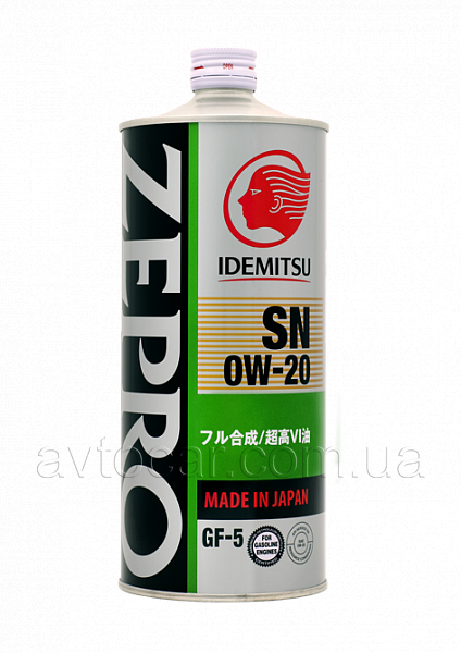 Моторное масло Idemitsu Zepro Ecomedalist SAE 0W-20