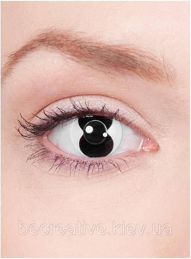 Декоративные контактные линзы для эффекта двойного зрения