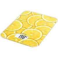 Весы кухонные Beurer KS19 Lemon