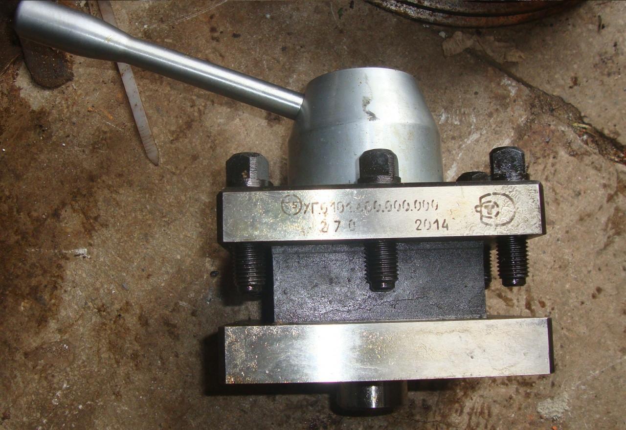 Резцедержатель токарного станка 1к62