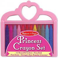 Набор для творчества Melissa&Doug Мелки полимерные Принцесса 12 цветов (MD4155)
