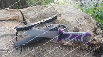 Нож для дайвинга SS 35 фиолетовый