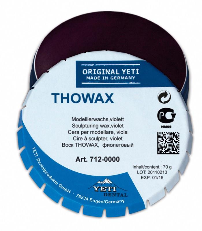 Моделировочный (зуботехнический) воск Yeti Dental THOWAX (Товакс), 70 г Фиолетовый, полупрозрачный NaviStom