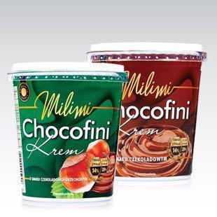 Шоколадный крем Milimi Chocofini o smaku czekoladowo-orzechowym 400 г, фото 2