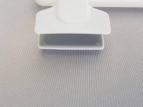 Плічка V-B30 білого кольору, довжина 30 см, фото 3