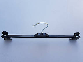 Плечики  V-B36 черного цвета, длина 36 см., фото 3