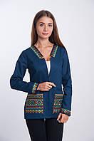 Женский жакет с вышивкой, арт. 4177