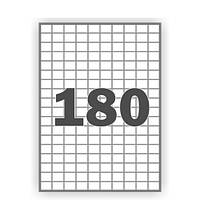 Наклейки прямоугольные с прямыми углами (2,1*1,6 см) – в наборе 180 шт.