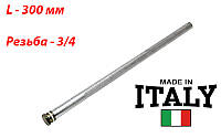Магниевый анод L-300 мм, d-21 мм, для бойлера GORENIE. Италия
