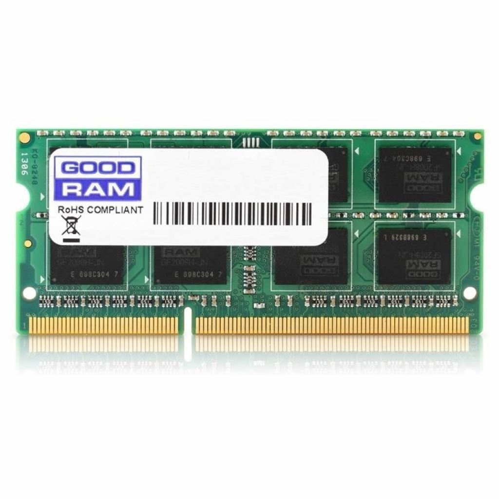 Модуль памяти для ноутбука SoDIMM DDR3 2GB 1600 MHz GOODRAM (GR1600S36