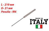 Магниевый анод М6 длинная шпилька, Италия