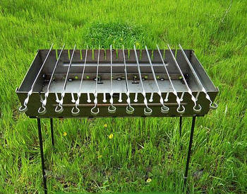 Мангал раскладной STENSON на 12 шампуров (УК-М12)