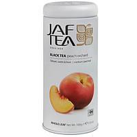 ЧАЙ JAF TEA Персиковый сад 100г ж/б