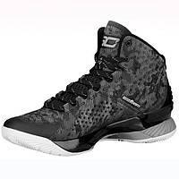 """Мужские Баскетбольные кроссовки Under Armour Curry 1 """"Black"""""""