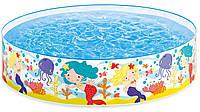 Каркасный бассейн Intex 58458 Русалочки  183х38 см