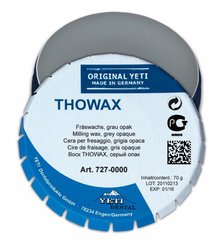 Воск фрезерный Yeti Dental TOWAX THOWAX MILLING, 70г Серый опак