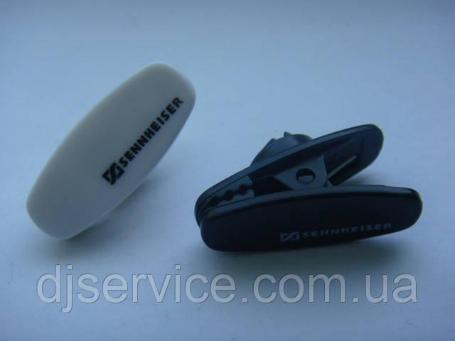 Прищепка DPA DMM0519 (black, White) клипса, крокодил для петлички передатчика Sennheiser sk100 (ew100g2)