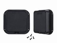 Полимерная коробка для часового механизма с шурупами