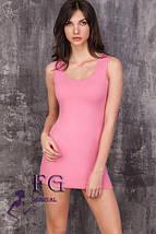 """Универсальное летнее женское платье майка с декольте, короткое """"Jersey"""", белое, фото 2"""