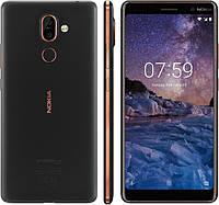 Смартфон Nokia 7 Plus 4/64gb Black Dual SIM 3800 мАч Qualcomm Snapdragon 660