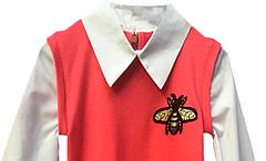 "Детская кофта рубашка ""Пчелки"", фото 3"