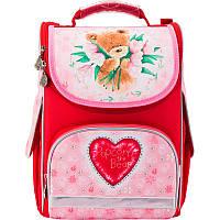 Рюкзак школьный каркасный 501 Popcorn Bear-2 PO17-501S-2