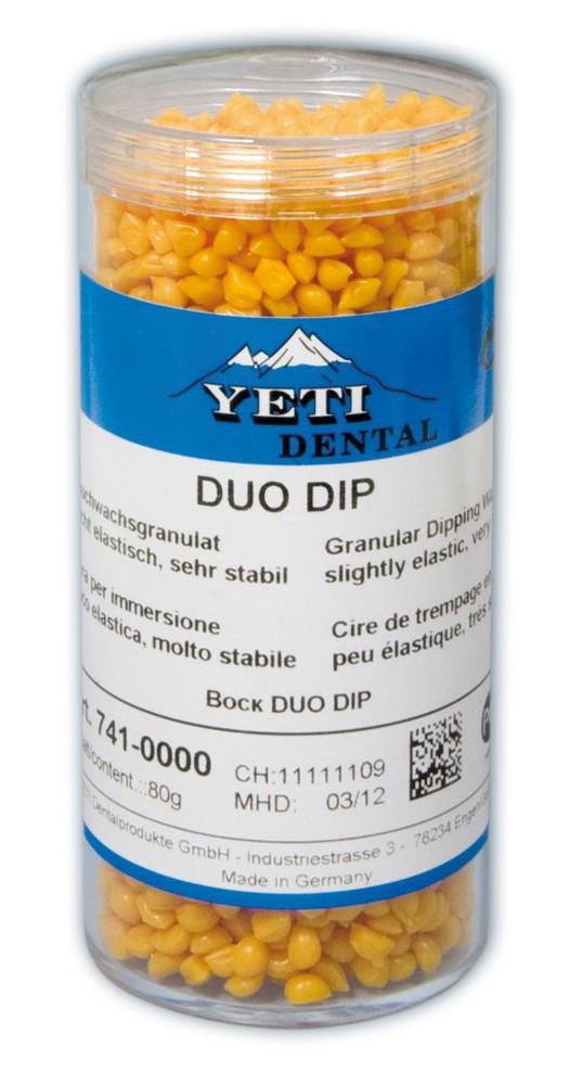 Воск погружной DUO DIP Yeti Dental, в гранулах, 80г