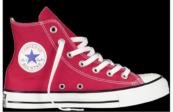 af0346e28fee Красные Высокие Кеды Converse (конверс) — в Категории
