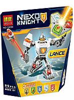 Конструктор Bela 10588 Нексо Найтс Боевые доспехи Ланса (аналог Lego Nexo Knights 70366)