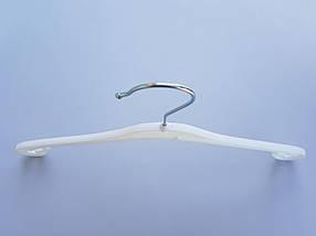 Плечики  V-X38 белого цвета, длина 38 см, фото 2