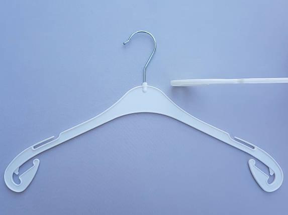 Плечики  V-X43 белого цвета, длина 43 см, фото 2