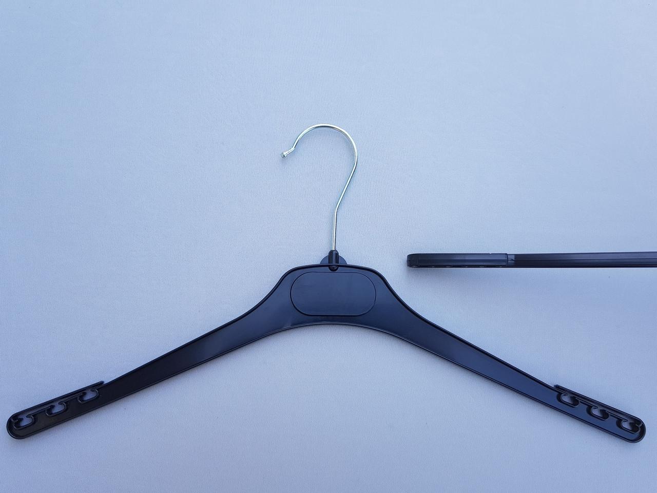 Плічка V-DP38 чорного кольору, довжина 38 см