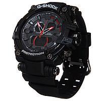Часы G-Shock protection с красной стрелкой