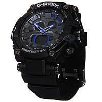 Часы G-Shock protection с синей стрелкой