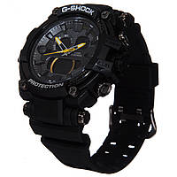 Часы G-Shock protection с желтой стрелкой