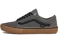 Кеды Vans Old Skool Pro Grey/Black/Gum 8.5 US