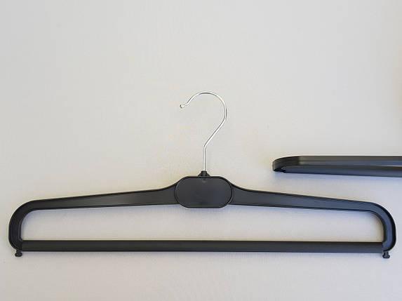 Плічка V-BV41 чорного кольору, довжина 41 див., фото 2