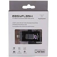 Флешка USB  EasyFlesh 128gb для iPhone 5/5S/5C/6/6 S Plus/7/ Ipad/Android