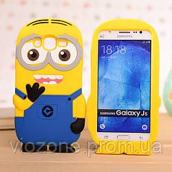 3d Чехол Бампер для Samsung Galaxy J5 2016 / J510 резиновый Миньон