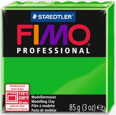 Фимо Профессионал 85 г Fimo Professional - 5 тропический зеленый