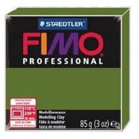 Фимо Профессионал 85 г Fimo Professional - 57 зеленая листва