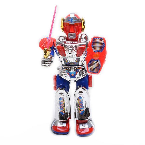 Робот на батарейках с оружием, 99001