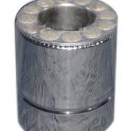 Труба утепленная нерж/нерж длина 0.25 м Fire Work толщина 0.8 мм