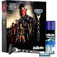 Набор для бритья Gillette станок Mach3 и гель для бритья Extra Comfort 75 мл (7702018442546)