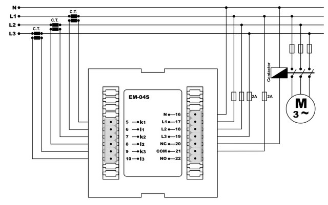 амперметр с релейным выходом мультиметр