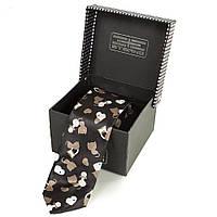 Галстук ETERNO Мужской узкий шелковый галстук ETERNO (ЭТЕРНО) EG628