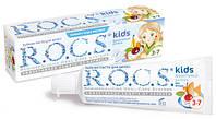 Детская зубная паста Фруктовый рожок 3-7 лет Rocs