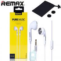 Наушники с микрофоном Remax RM-303 белые