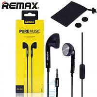 Наушники с микрофоном Remax RM-303 черные