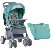 Прогулочная коляска Bertoni Foxy, цвет Green Happy Animals